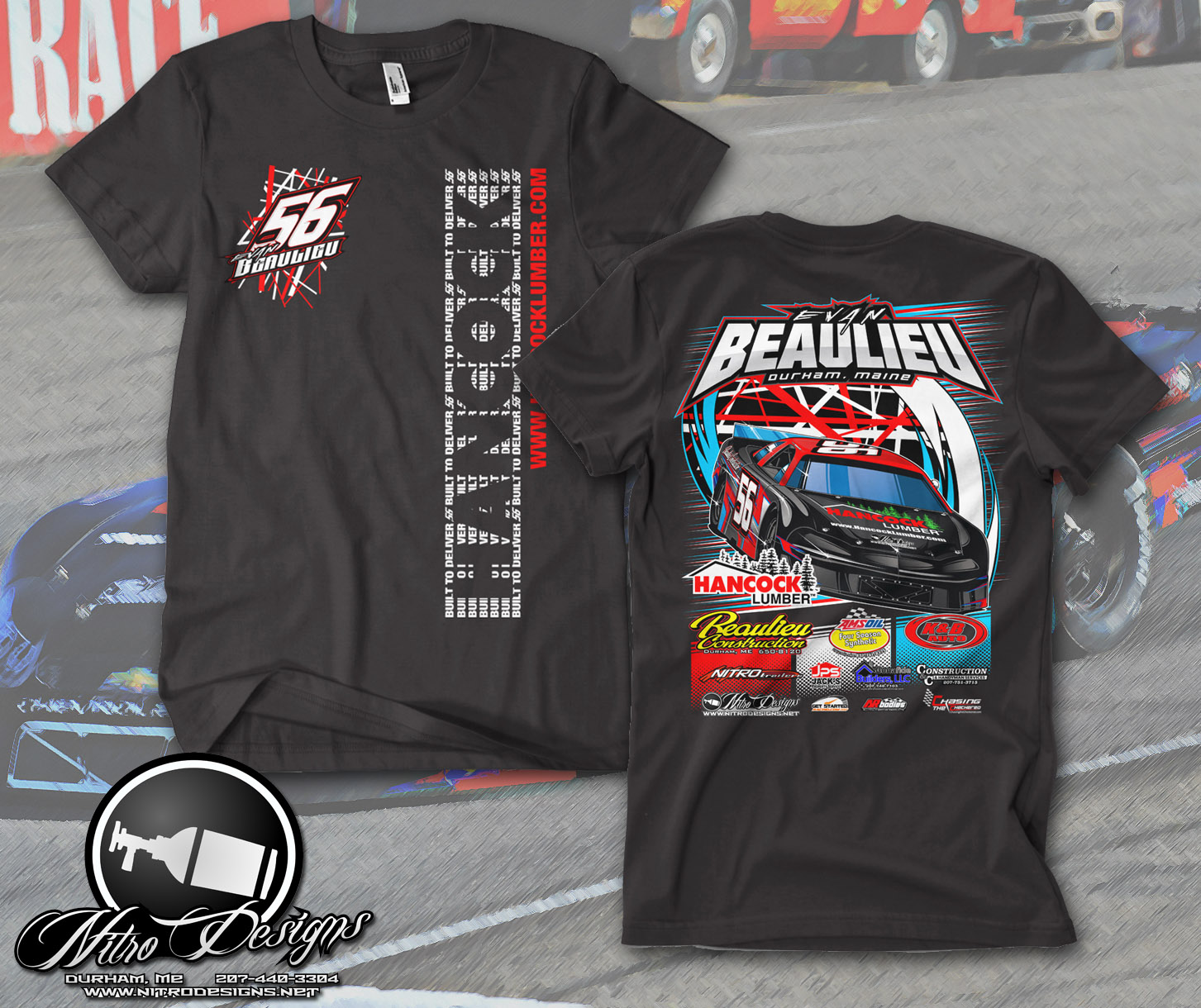 2017 Beaulieu Racing Shirts